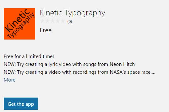 kinetic app
