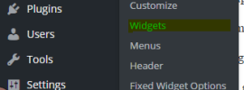 sticky sidebar widget in wordpress