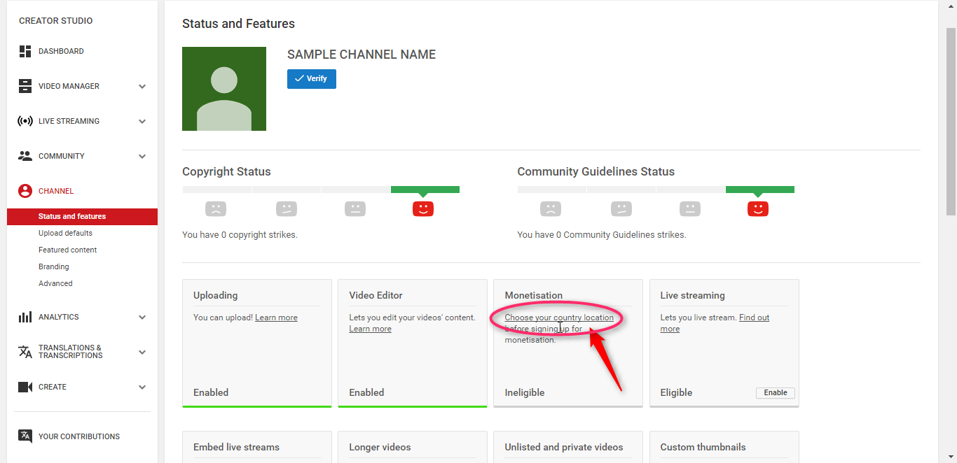 monetize multiple youtube channels with 1 adsense
