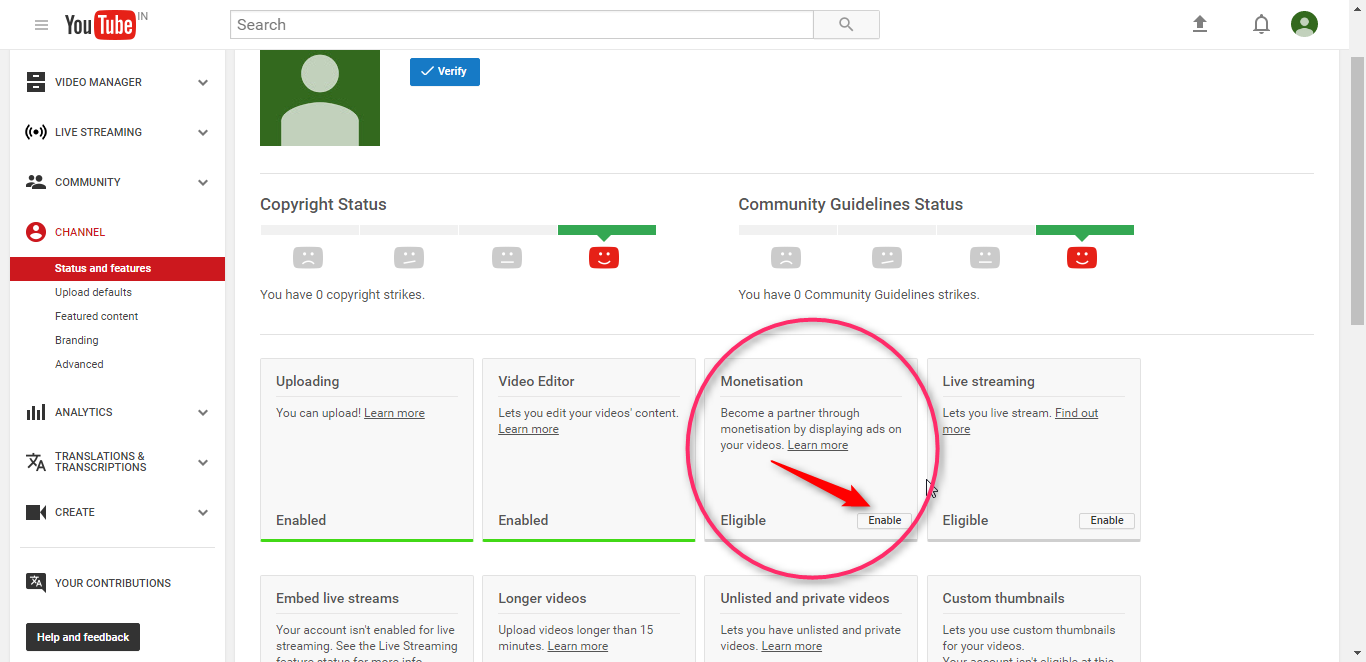 multiple youtube channels under 1 google adsense account